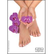 Poster schöne Füße