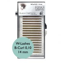 BDC Silk W-Lashes (3D) B-Curl 0