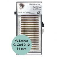 BDC Silk W-Lashes (3D) C-Curl 0