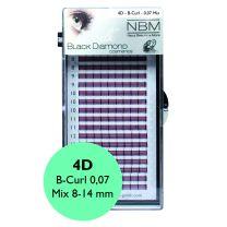 BDC Silk 4D-Lashes B-Curl 0