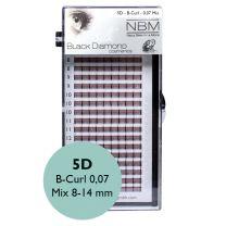 BDC Silk 5D-Lashes B-Curl 0