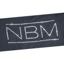 Strasstransfer - Logo NBM (20 x 8,3 cm)
