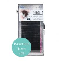 BDC Soft Silk Lashes B- Curl 0,15 - 8mm
