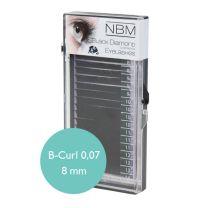 BDC Silk Lashes B-Curl 0,07 - 8 mm