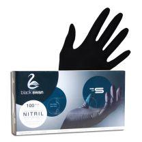 Nitril Handschuhe schwarz- puderfrei Gr. S