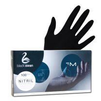 Nitril Handschuhe schwarz- puderfrei Gr. M