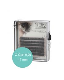 BDC Silk Lashes C- Curl 0,20 - 17mm mini tray