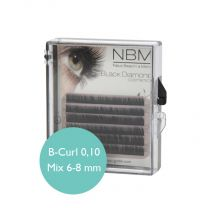 BDC Under Silk Lashes B-Curl 0,10 Mix mini
