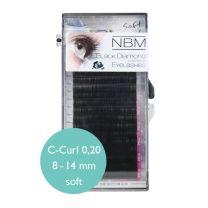BDC Soft Silk Lashes C- Curl 0,20 Mix