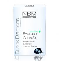 BDC Eyelash Glue S1 Sensitive Schwarz
