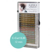 BDC Silk Glitter Lashes C-Curl 0,20 - 12 mm