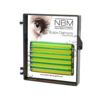 BDC Neon Lashes B-Curl 0,07 Mix green