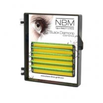 BDC Neon Lashes B-Curl 0,07 Mix yellow