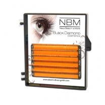 BDC Neon Lashes B-Curl 0,07 Mix orange