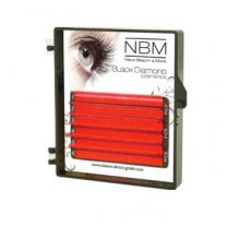 BDC Neon Lashes B-Curl 0,07 Mix pink orange