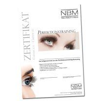Perfektionstraining Eyelash Extensions