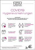 Hygienevorkehrungen CV19