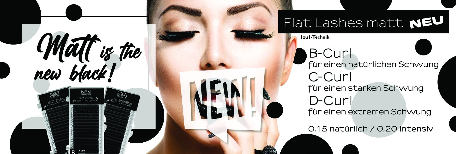 NEU, Flat Lashes premium matt